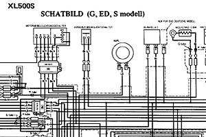 Honda Schaltplan on wiring diagram honda dax